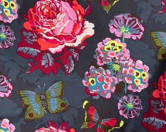 Anna Maria Horner Loulouthi AH38 Clippings in Passion - 1 yard cut