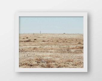 Neutral Minimalist Wall Art   Southwestern Art Print   Modern Rustic Decor   Printable Landscape Photography   Instant Country Art Print