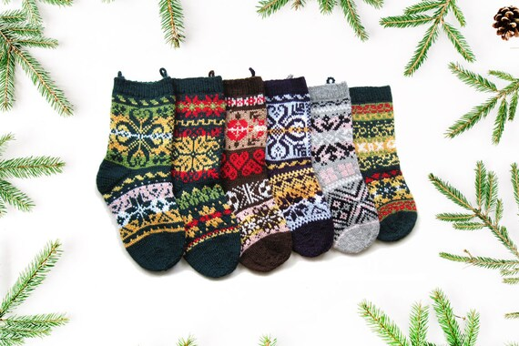 image 0 - Knitted Christmas Stockings