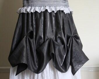 Long layered summer skirt size L, XL. Free UK shipping