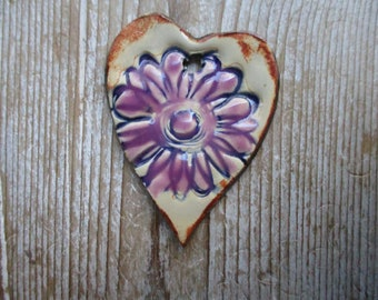 Flower Ceramic Pendant