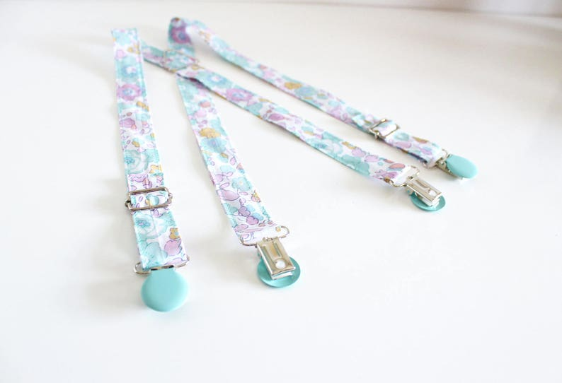 Suspenders Child in Liberty Betsy Celadon ON ORDER