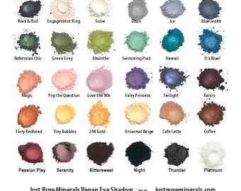 Choose Any Eye Shadow Color - 3g shadow with rotating sifter jar