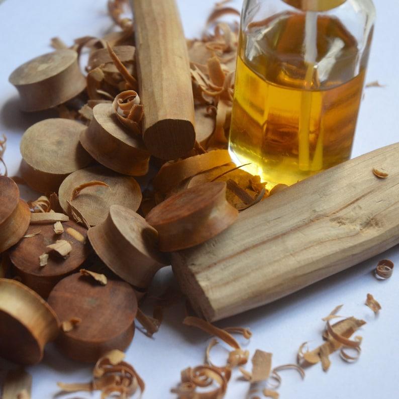 Pure Sandalwood Oil 100% Essential Oil From Vrindavan India