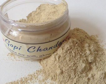Gopi Chandan 100 grams from Vrindavan Facepack Tilak GP0001