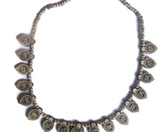 Maha Mantra Tulsi Tulasi Kanthi Necklace 16 Leaf Radha