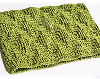 Crochet Diamond Pattern Winter Cowl INSTANT DOWNLOAD PDF from Thomasina Cummings Designs
