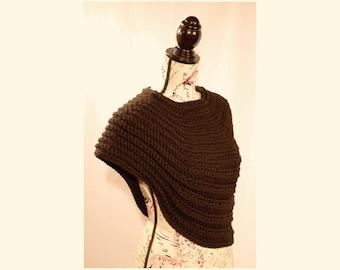 Half Body Cowl Wrap (Crochet Pattern PDF) by Thomasina Cummings Designs