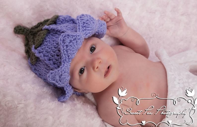 Crochet Fairy Hat Pattern Photo Prop or Fancy Dress Prop  7296e6d2e01