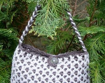 Crochet Reversible Evening Clutch Bag or Handbag INSTANT DOWNLOAD PDF from Thomasina Cummings Designs