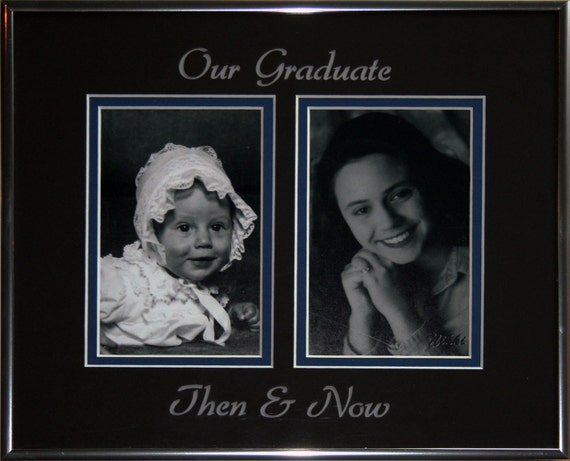 Personal Senior Picture Frameour Graduate Then Now Etsy