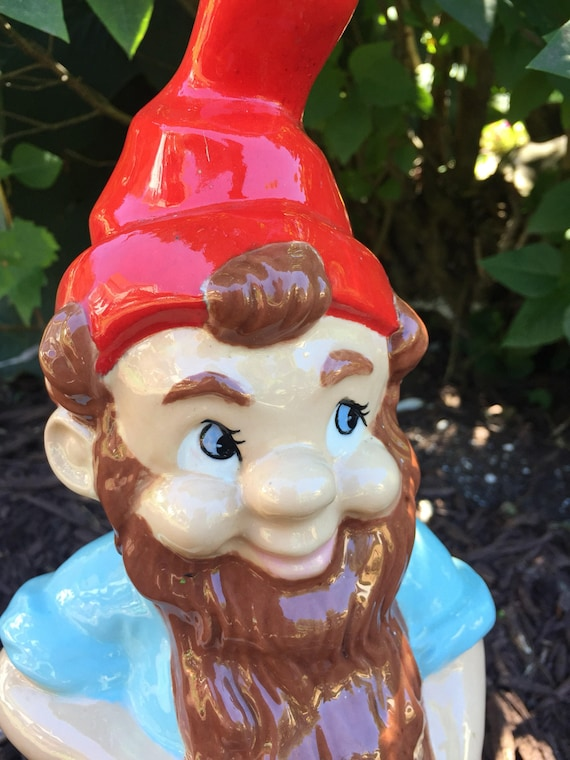 Terrific 1989 Vintage Garden Gnome Ceramic Statue Cutting Wood Dwarfs Elves Hand Painted Garden Gnome Woodsman Lumberjack Axe Ocoug Best Dining Table And Chair Ideas Images Ocougorg