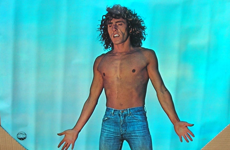1dd356723 Vintage 1970 s Tommy The Who Roger Daltrey Rock   Roll