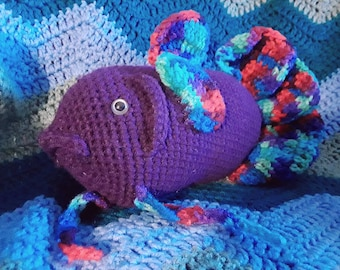 Stuffed Animal Betta Etsy