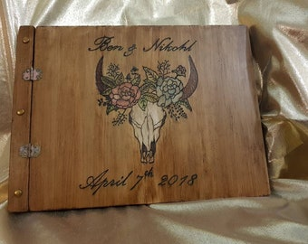 Personalised Wooden Book