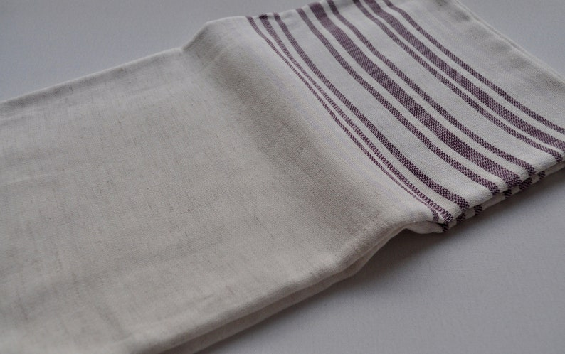 Linen Turkish Towel Turkish Bath And Beach Towel Ivory Etsy
