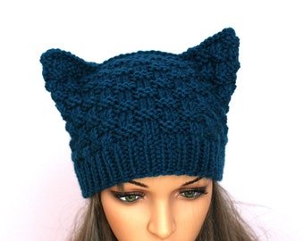 19de37f54c3 Accessories hat. Hat Cat.Ladies beanie   Russet Cat  ! Hand knitted