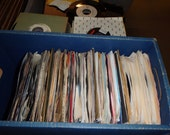 Nice Lot of (50) 45 39 s Records Jukebox 7 quot 45 RPM vinyl records Juke Box for playing or resale