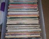 12 quot Random Used Vinyl Record Albums WITH Jackets For Crafting, Crafting LOT of (25)