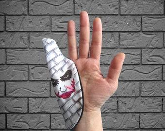 The Joker -Why So Serious- Hand drawn Apple Pencil Stylus Glove for iPad Tablet - - gift present - art student - artists - teacher - school