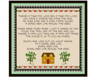 Who's The Boss Cross Stitch Pattern - Cross Stitch Sampler - Funny Cross Stitch
