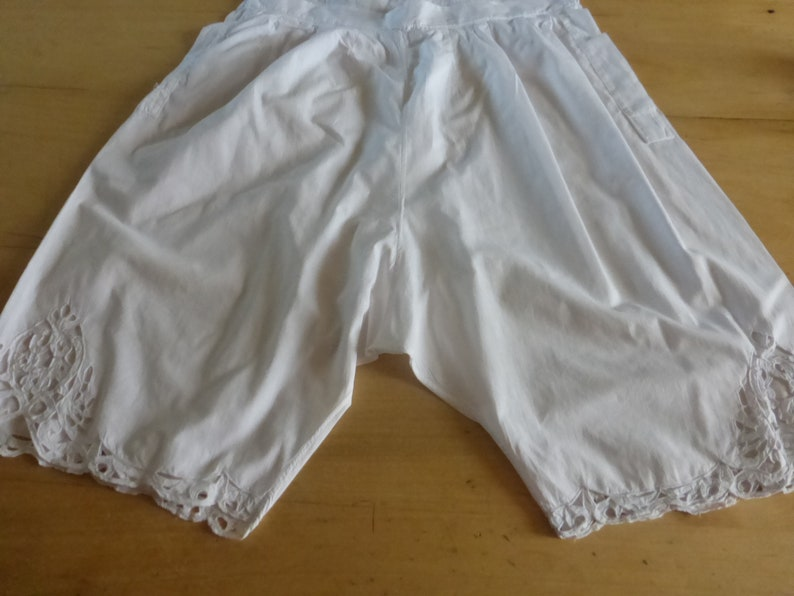 French Knickers Antique Bloomers Victorian Edwardian Knickers Circa 1920/'s
