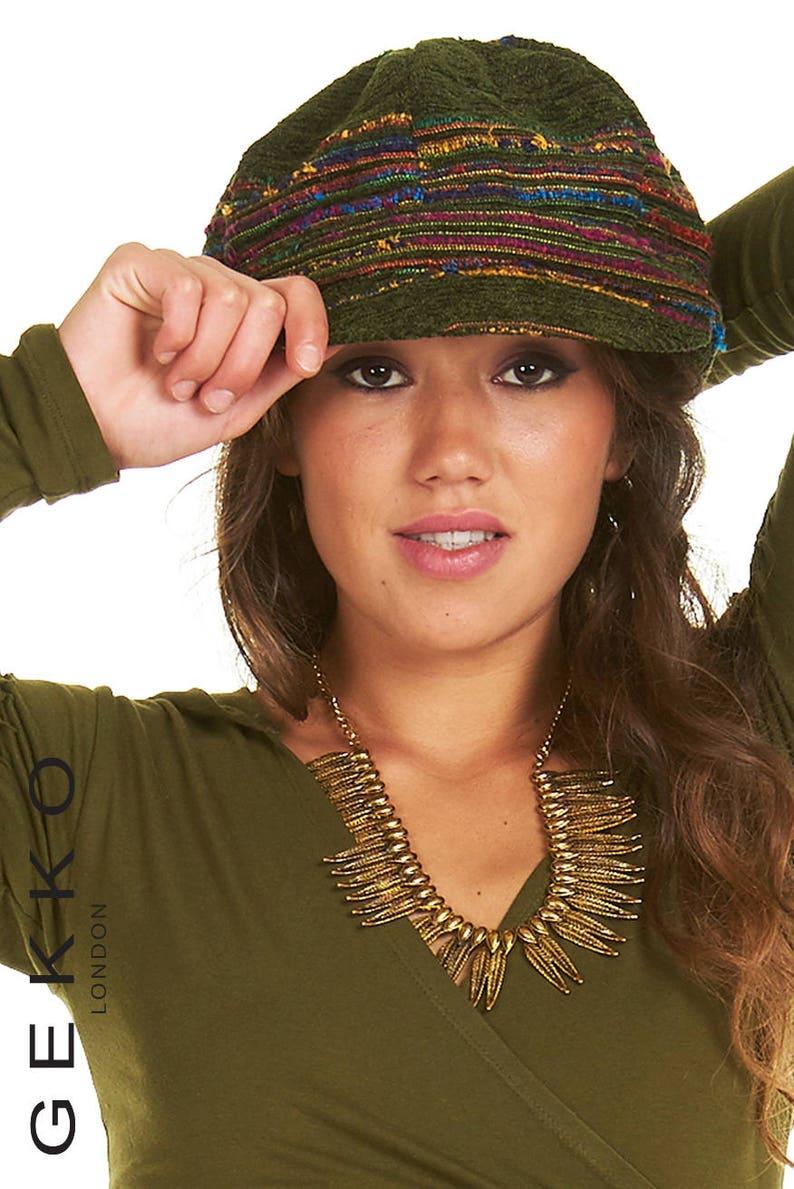 1e9ef2d12e0 PEAK HAT assorted colours BERET grunge hat peak beret
