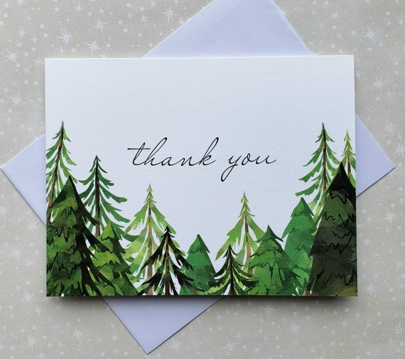 Thank You Cards 8ct