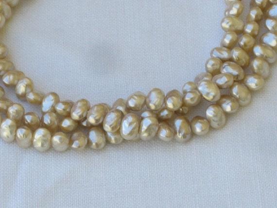 Vintage Wedding Necklace 5 Strand Pearl Necklace Vintage Les Bernard Necklace Vintage Pearl Necklace Les Bernard Pearl Necklace