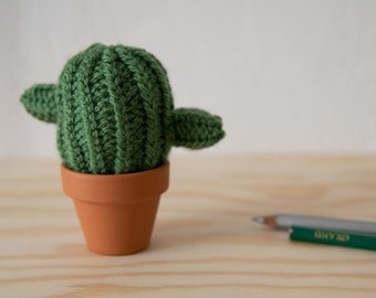 cactus, handknitted, wool, pin cushion, interior decoration, deco, knitted deco, office deco, gift idea, cacti, succulents
