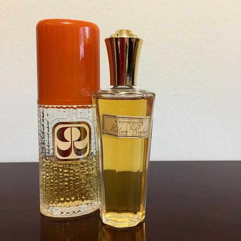 SALE! Vintage Madame Rochas Parfum De Toilette splash & Cologne spray