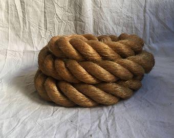 Vintage Oversize Jute Rope