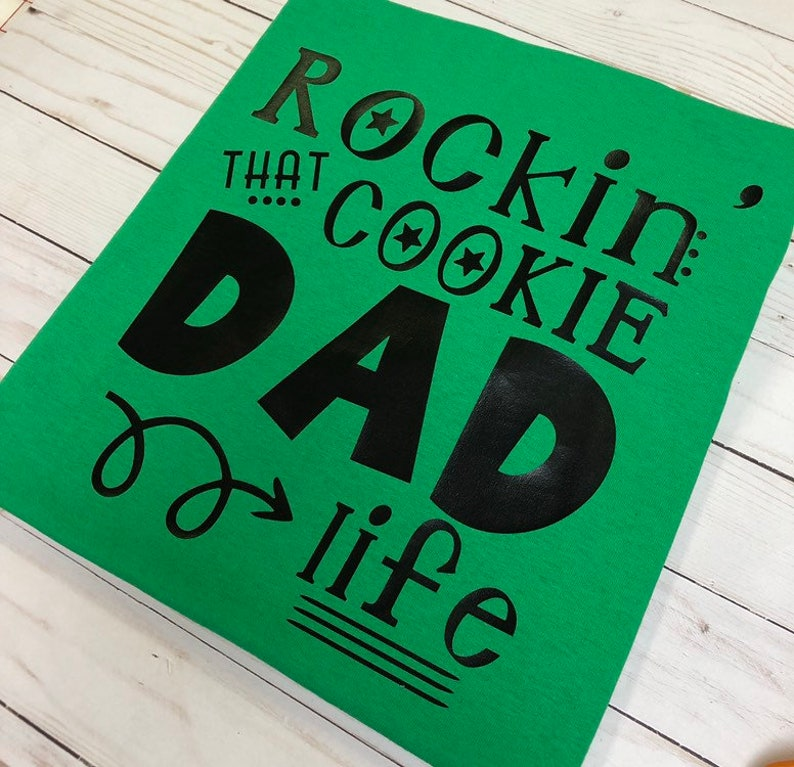Girl Scout Cookie Dad Shirt  Cookie Dad image 0