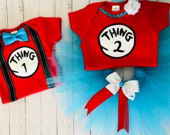 Thing One Thing Two costumes ~ Thing Costumes