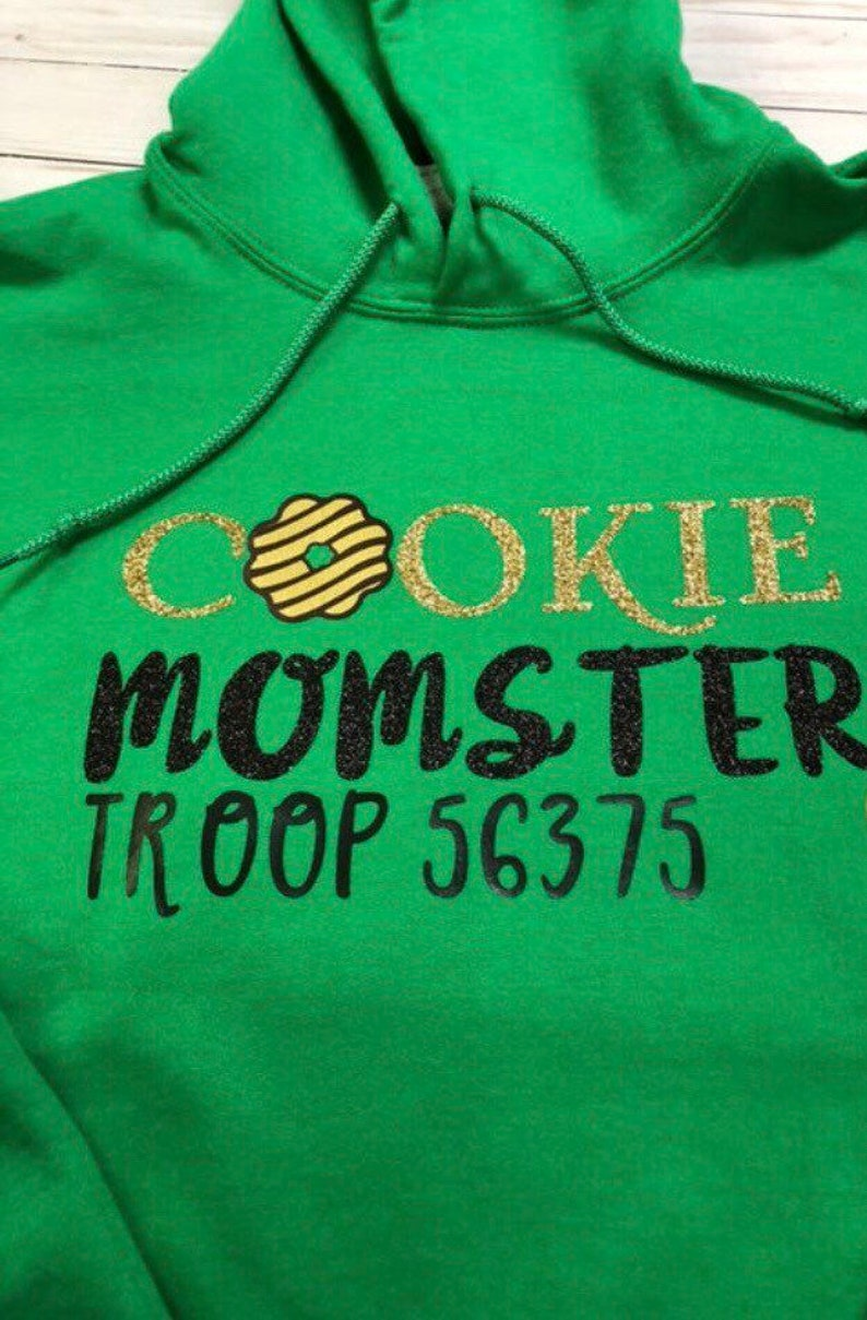 Girl Scout Cookie Shirt Sweater  Cookie Shirt  Cookie Boss image 0