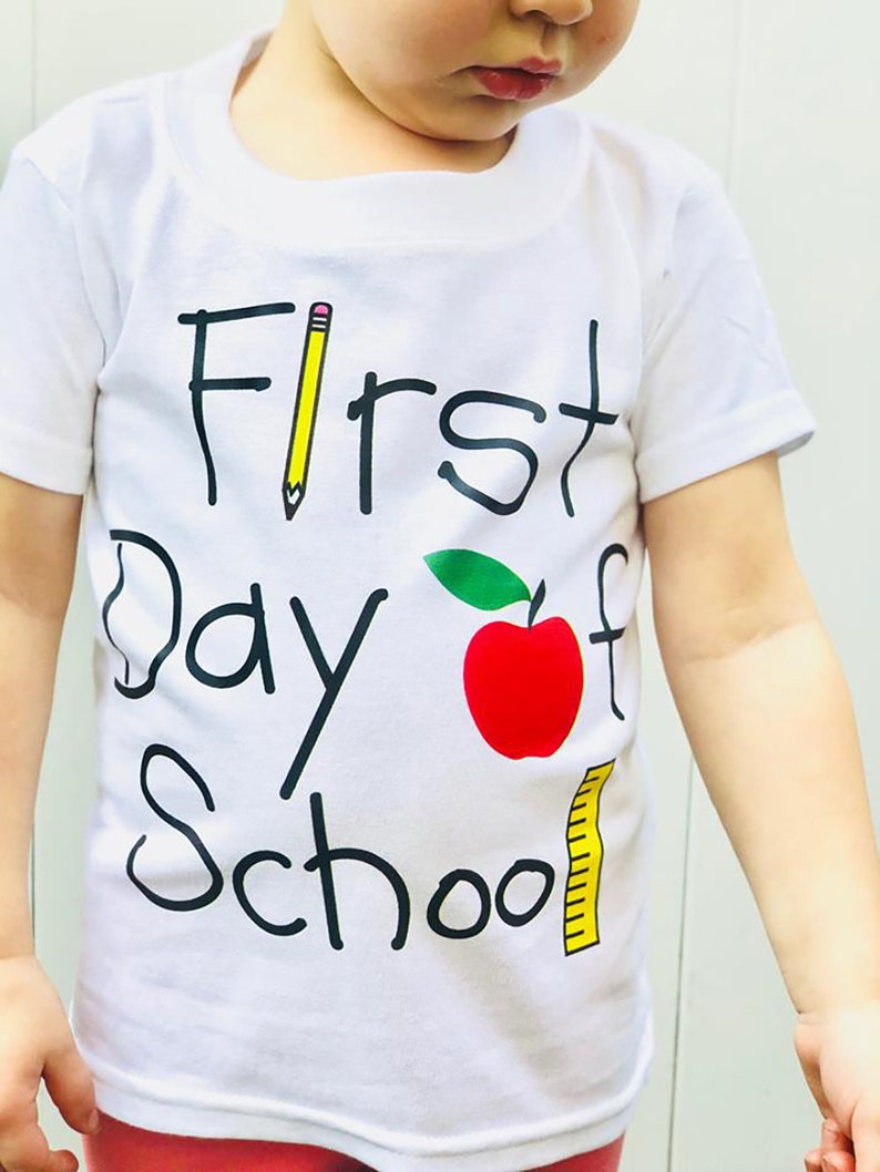 f89aa01369139 Most Sold Items: Top Selling First Day of School Shirt First | Etsy