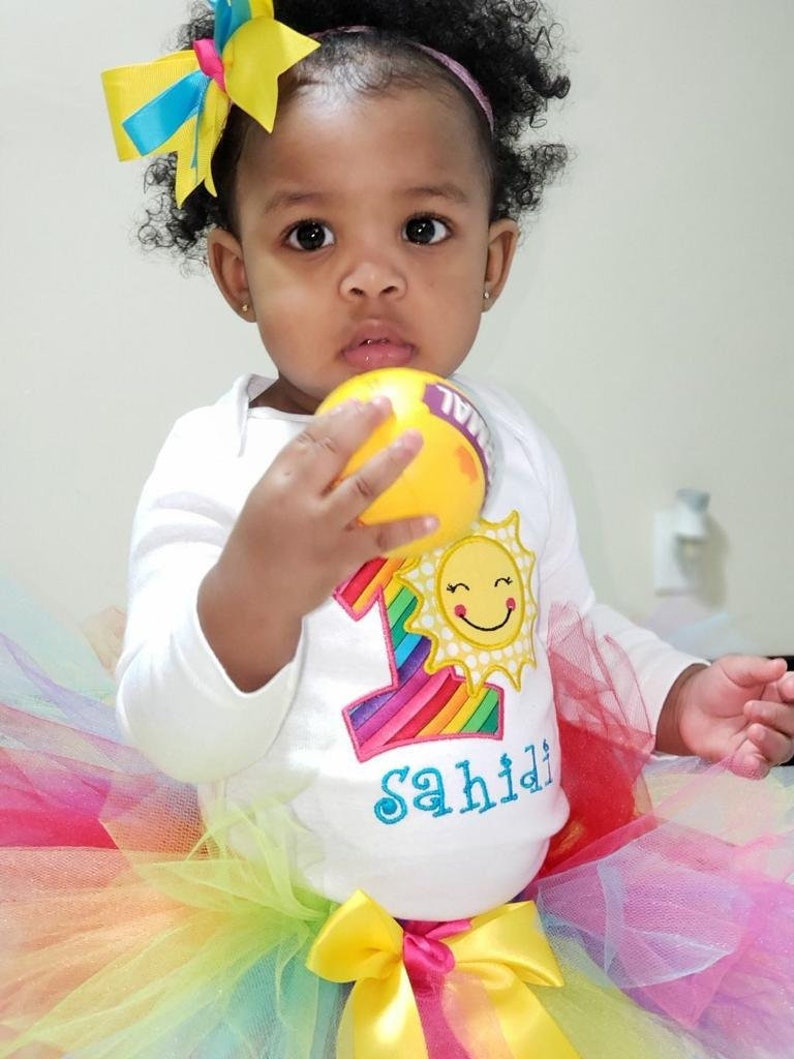 2763b26ee You Are My Sunshine Birthday Outfit Girl 1st Birthday Girl