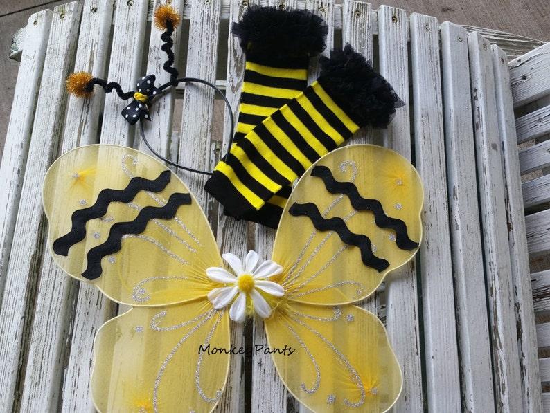Bee Wings With Antenna Headband 21606