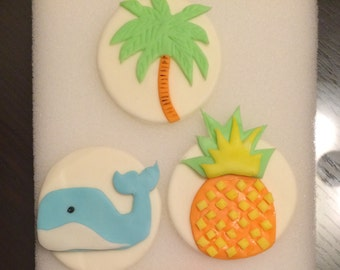 Tropical toppers