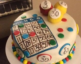 Bingo toppers