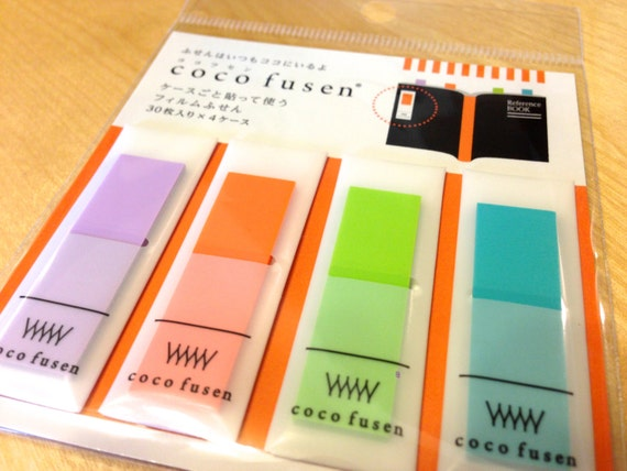 transparency tabs for Filofax,transparent tabs,see through sticky notes,see through flags,transparency flags,sticky tabs,transparent flags 7