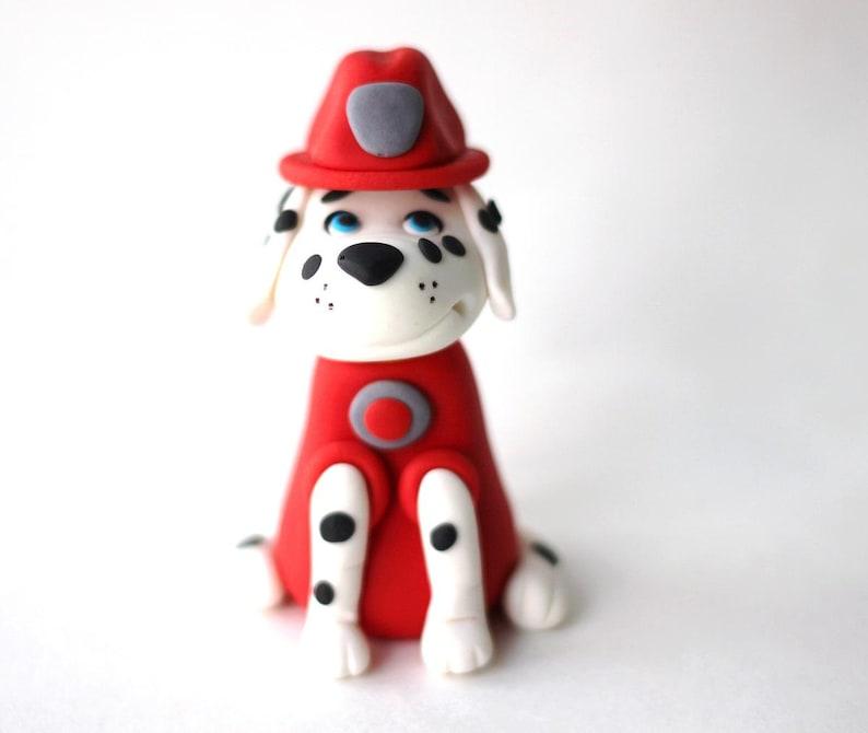 Dalmatian dog fondant cake topper Dog Puppy Cake Fondant ...