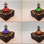 Triode Radio Vacuum Tube Hi-Speed 4 ports USB 3.0  HUB Splitter. Steampunk/Industrial Mens Gift Present !!! Free shipping !!!