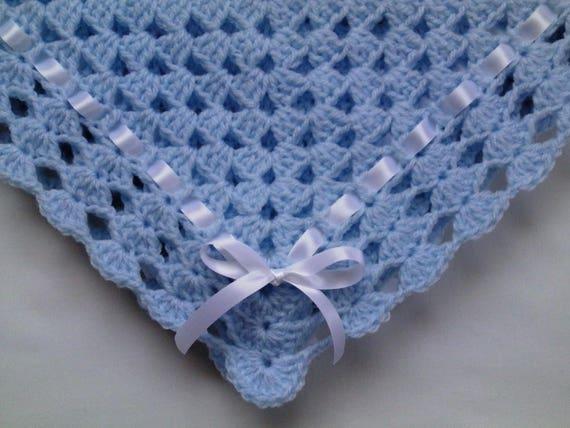 couverture Crochet Baby Blanket Afghan Nursery Bedding Gray Christening Baptism deken colcha coperta Babydecke manta