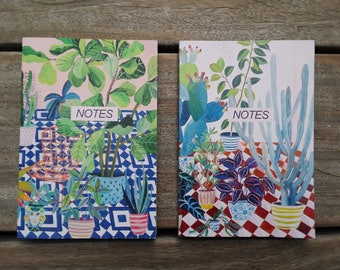 Recycled notebooks ( set  of  2)