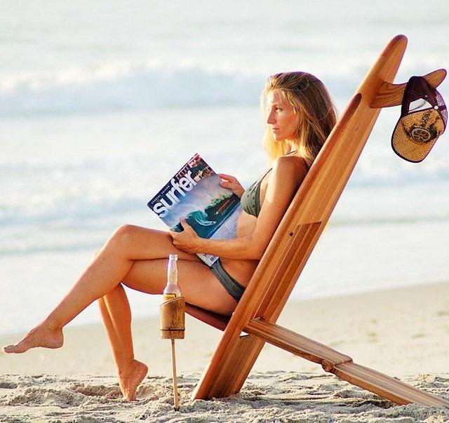 The Bombwatcher Legend Folding Surfboard Chair