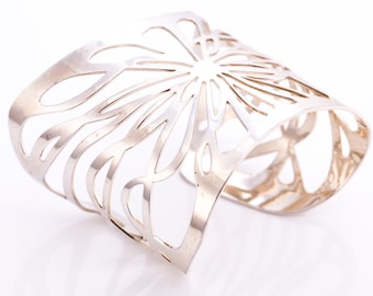 Vintage Thierry Mugler Butterfly Cuff Bracelet