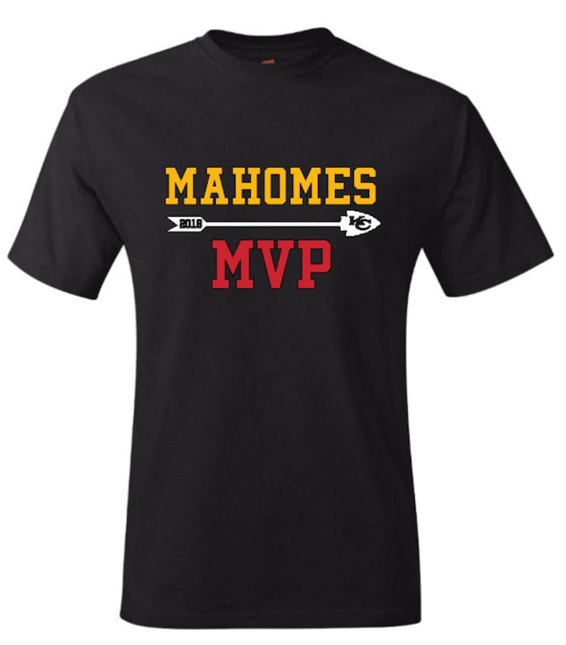 8e3a1bcf2b1 MAHOMES MVP Kansas City Chiefs Hoodie T-Shirts Long Sleeve | Etsy