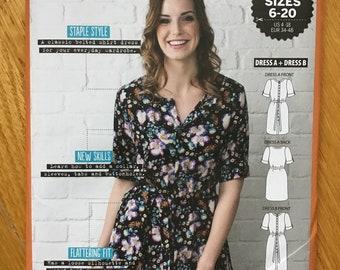Shirt Dress Pattern The Shirt Dress UNCUT US Size 4 6 8 10 12 14 16 18