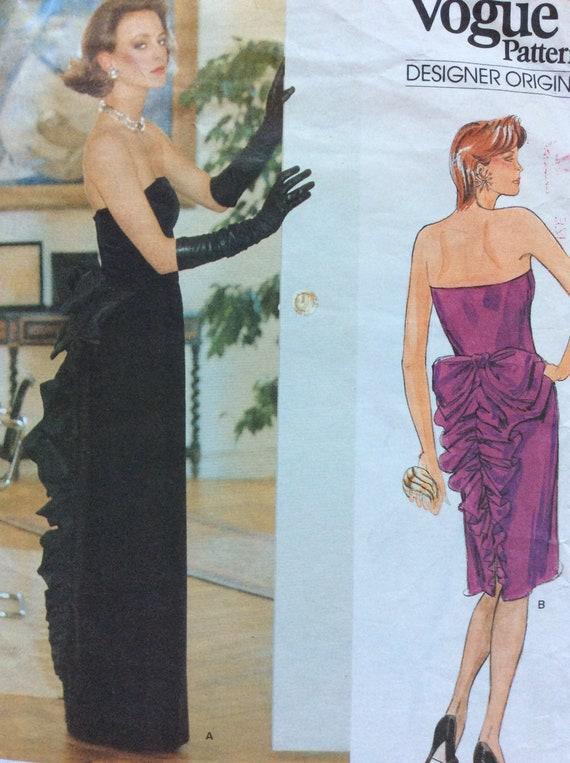 Vogue 1501 Bellville Sassoon Evening//Cocktail Jacket /& Dress 8-12 Sewing Pattern